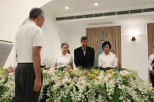 Lee funeral