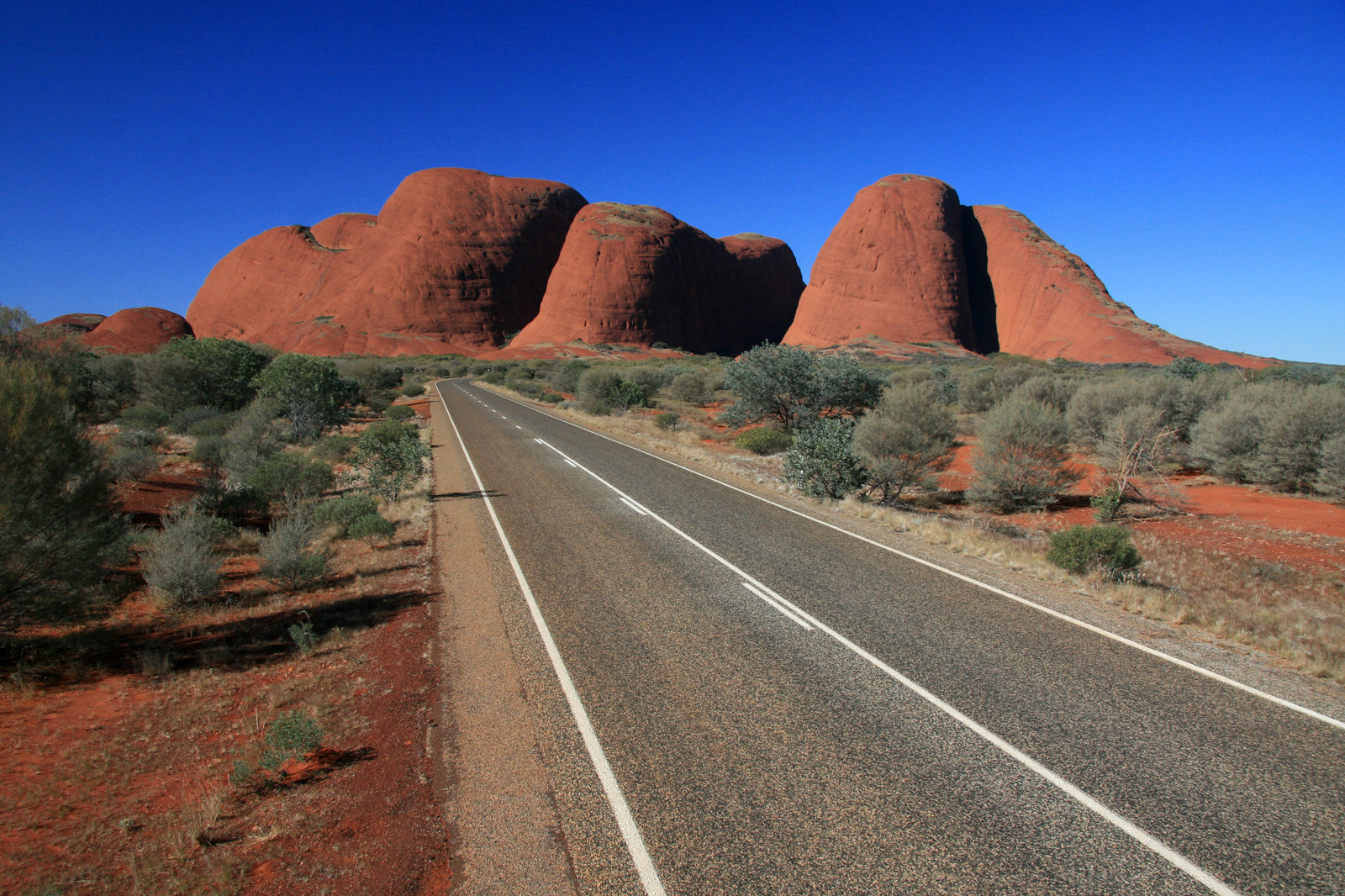 Uluru Kata Tjuta National Park In Central Australia