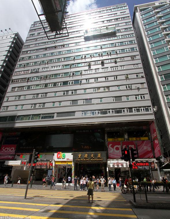 chungking mansions in hong kong. Black Bedroom Furniture Sets. Home Design Ideas